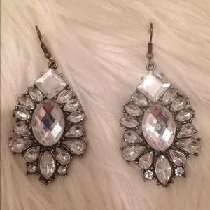 Prom Movie Star Style Crystal Dangle Earrings